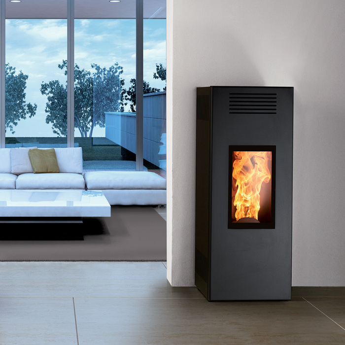 Caminetti NP Noir; Room Heater, up to 10kW