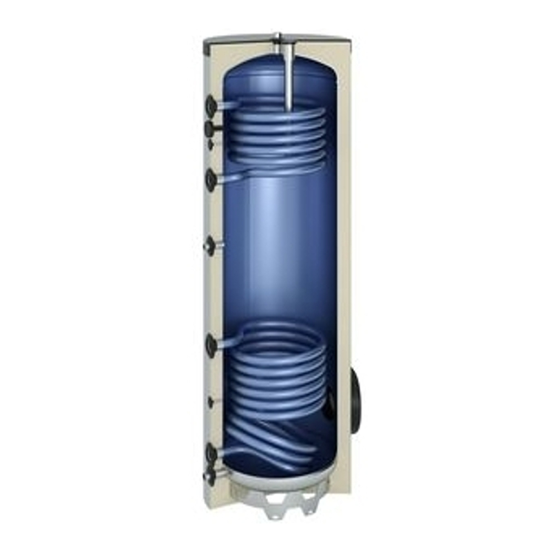 Hot Water Tank for Solar/Boiler