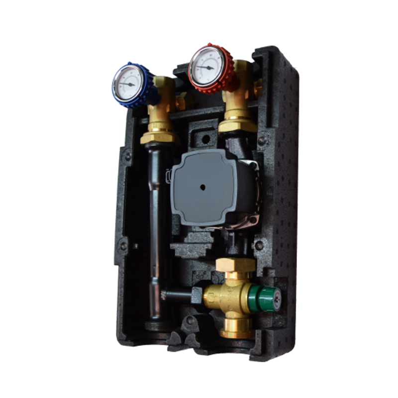 Insulated Pump Group DN25 - Thermostatic
